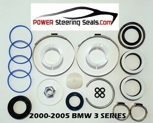 Power Steering Rack And Pinion Seal Repair Kit Fits Bmw 3 Series 2000 2005