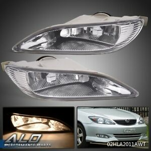 For Toyota 2005 2008 Corolla 2002 2004 Camry Clear Bumper Driving Fog Lights