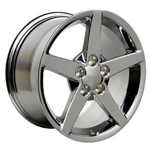 Chrome Wheel 17x9 5 For 1993 2002 Chevy Camaro Owh0084