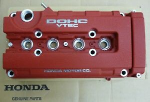 Genuine Honda Civic Acura Integra Type R Red Valve Cover 12310 P73 A00 New