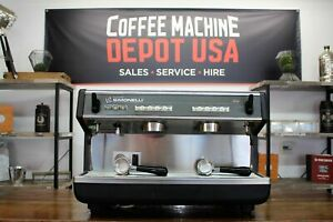 Nuova Simonelli Appia I High Cup 2 Group Commercial Espresso Coffee Machine