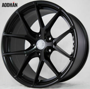 Aodhan Ls007 18x8 35 5x114 3 Black Mazda 3 Lancer Eclipse Camry Supra Is300