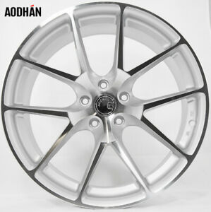 Aodhan Ls007 18x8 35 5x114 3 Silver Mazda 3 Lancer Eclipse Camry Supra Is300