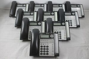 Lot Of 10 At t 1080 4 line Small Business System Phones W Stands Handsets
