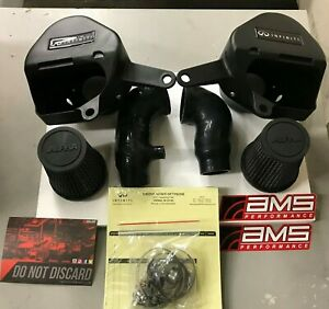 Ams Infiniti Q50 Q60 3 0 Vr30 Red Alpha Cold Air Intake Kit 16576rnv37 In Stock