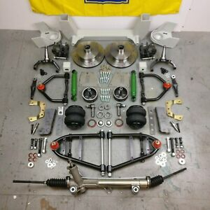 47 54 Chevy Truck Mustang Ii Ifs Airbag 2 Drop 5x5 Power Lhd Rack Hub To Hub