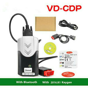 2019 New Vci Vd Ds Cdp Bluetooth Tcs Cdp Pro With 150e 2016 r1 Keygen
