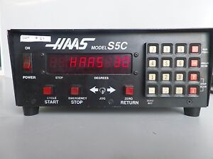 Haas Control Box Software 30 Brush 17 Pin Rotary Table Indexer Lot 21
