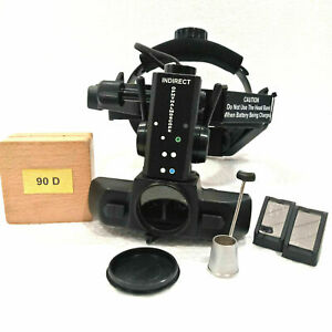 Rechargeable Indirect Ophthalmoscope 90 D With Accessories