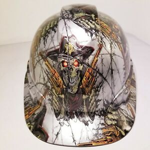 Hard Hat Custom Hydro Dipped Osha Approved Dirty Dirty Harry Old West New
