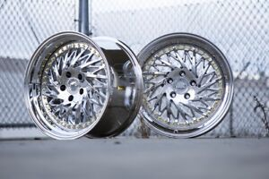 Aodhan Ds03 18x9 5 18x10 5 22 Vacuum Chrome Is250 Rx8 Supra Gs300 Sc400 Rx7
