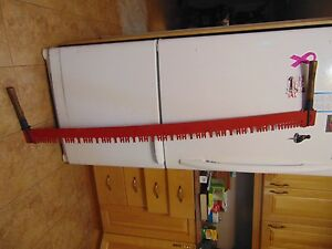 2 Man Crosscut Saw 60 Very Nice Chalet Decor 4830