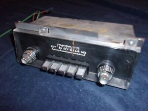 Working Original 1967 1968 Plymouth Fury Am Radio With Knobs Mopar 240