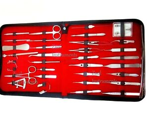 Ophthalmic Eye Micro Surgery Kit Of 33 Pcs Zuol Instruments