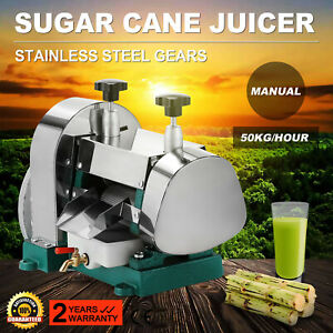 Sugarcane Juicer Sugar Cane Grind Press Machine Liguid Commercial Squeezer