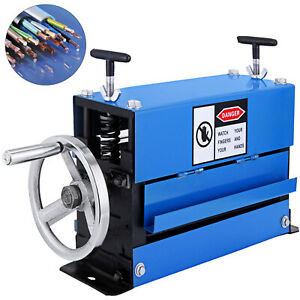 1 40mm Manual Wire Stripping Machine 10 Channels Copper Scrap 10 Blades