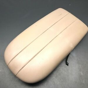 1997 2002 Ford Expedition Cover Center Console Armrest Lid Wide Arm Rest Oem Tan
