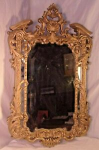 Victorian Cast Resin Mirror 18x30 Mirror 14 1 2 X 21 1 2