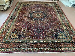 Ca1900s Vg Dy Antique Persian Yalameh Serapi 8 5x11 Estate Sale Rug