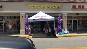 Outdoor Store Sign Shoe Store Wonder Shoes Yellow led Lighted