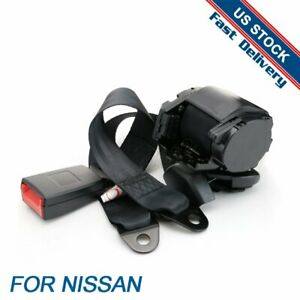 For Nissan 1set 3 Points Harness Car Vehicle Safety Seat Belt Universal Replace