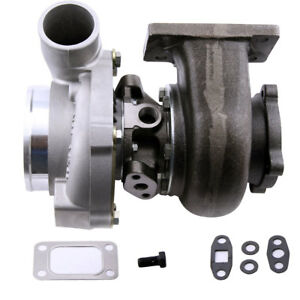 Gt3037 Gt30 T3 Flange A R 60 Universal Turbocharger Compressor Water Oil 500hp