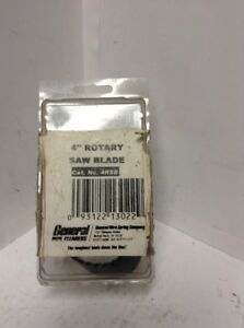 General Wire Spring 4 Rotary Saw Blade 4rsb Drain Sewer Cleaning Cutter Nib