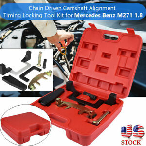 Chain Driven Camshaft Alignment Timing Locking Tool For Mercedes Benz M271 1 8