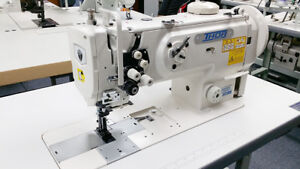 Thor Gc1560 Double Needle Upholstery Walking Foot Sewing Machine Assembled