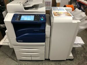 Xerox Workcentre 7855 Multi function W Booklet Maker 56k