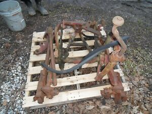 Farmall Ihc Tractor Fast Hitch
