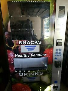Two Seaga Hy900 Healthy You Combo Vending Machines good Condition Entree