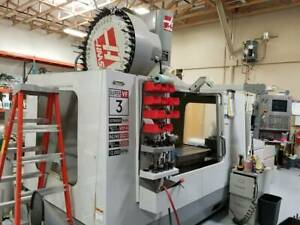 Used 2006 Haas Vf 3ssyt Cnc Vertical Machining Center Mill 40 Tools Wips Usb Hit