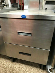 Randell Two Drawer Undercounter Refrigerator