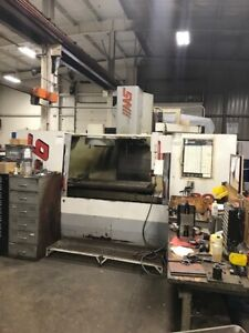 Used Haas Vf 6 Cnc Vertical Machining Center Mill Ct 40 10 000 Rpm Gear Box 00