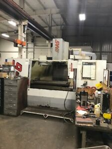 Used Haas Vf 6 Cnc Vertical Machining Center Mill Ct 40 7 500 Rpm Gear Box 98