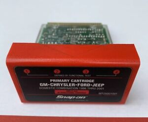 Snap On Primary Cartridge Gm Chrysler Ford Jeep Mt25001001 96 Thru 2001