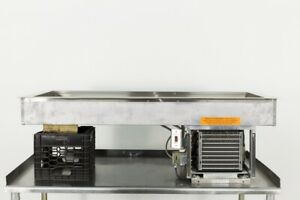Used Duke Adi 4m 4 pan Refrigerated Drop in Cold Food Well