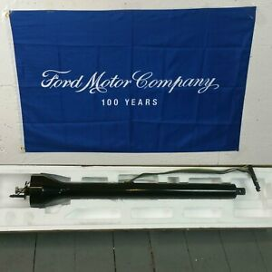1957 1958 Ford Fairlane And Fairlane 500 Polished Black Steering Column