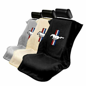 Protective Cloth Seat Cover Towel For Ford Mustang Mustang Logo
