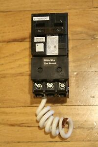 Murray 50 Amp Double Pole Type Mp gt2 Gfci Circuit Breaker