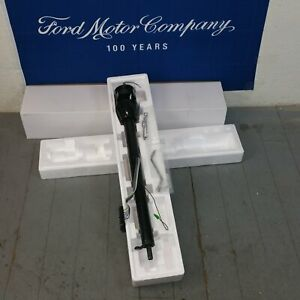 1957 1958 Ford Fairlane And Fairlane 500 Black Tilt Steering Column Trans New