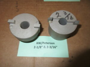 2 Used Kwik way peterson Valve Seat Cutters 2 1 8 2 3 16