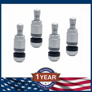 4x Tpms Tire Sensor Valve Stem Replacement Repair Kit Audi A4 A6 Vw Passat