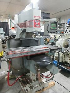 Tree Journeyman 425 3 Axis Cnc Milling Machine Knee Mill Dynapath Conversational