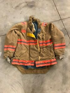 Morning Pride Bunker Gear Jacket Turnout Jacket Size 44 Assistant Chief