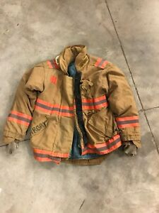Morning Pride Bunker Gear Jacket Turnout Jacket Size Large Captain