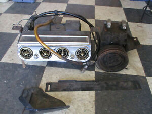 May 18 1966 Mustang Under Dash Ac Unit Compresor V 8 Mounting Bracket