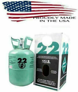 R22 Refrigerant 10lb Cylinder Factory Sealed Virgin 22 Same Day Shipping Quick