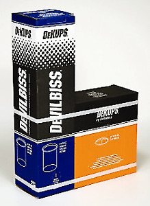 Devilbiss Dekups Dpc 600 Disposable Cups Lids 34 Oz 32 Ea no Filters dpc 600